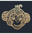 Simbol new year 2016 monkey vector image