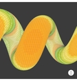 Spiral Mosaic 3d vector image