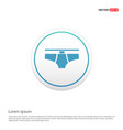 underwear icon hexa white background icon template vector image vector image