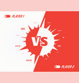 versus spikes background vector image