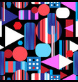 abstract bright multicolored pattern different vector image vector image
