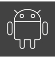 Android vector image vector image