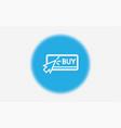 buy icon sign symbol vector image