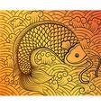 chinese fish2 vector image