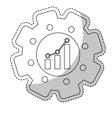 Graphic chart icon