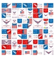 Happy USA Independence Day - Fourth of July - July vector image vector image