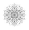 Mandala Ethnic decorative elements Hand drawn vector image