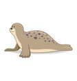 seal animal on a white background vector image