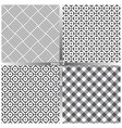 seamless pattern set ff vector image vector image