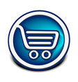 shopping web icons vector image vector image