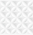 white decorative geometric texture - seamless vector image vector image