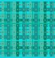 abstract aquamarine cells vector image