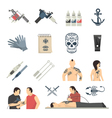 attoo Studio Flat Icons Collection vector image