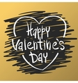 Happy valentines day and weeding cards design vector image vector image