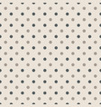 seamless pattern with polka dots in two colors vector image vector image
