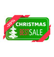 christmas best sale label abstract new year tree vector image vector image