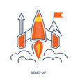 concept of start up business vector image