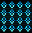 geometrical abstract blue dot pattern background vector image vector image