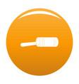 justice gavel icon orange vector image vector image