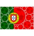 Portugal soccer balls vector image vector image