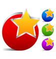 star emblem vector image