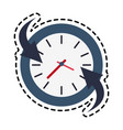 wall clock icon image vector image vector image