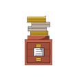 academics books icon vector image
