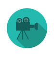 camera video icon vector image vector image