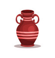flat icon of brown ancient greek or roman vector image