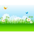 grass backgrnd vector image vector image