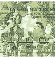Grunge Dollar Bill vector image vector image