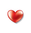heart sign for valentine day vector image vector image