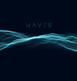 music wave background sound wave abstract vector image vector image