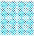 seamless blue abstract dot pattern background vector image vector image