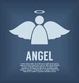 Single Angel Symbol vector image