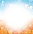 summer background abstract of sea sun beach sky vector image