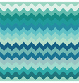 Teal chevron seamless pattern vector image