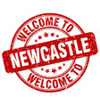 welcome to newcastle vector image vector image