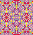 seamless pattern of stained glass vector image