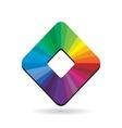 palette colours vector image