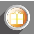 gift icon symbol design vector image vector image