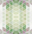 pattern geometric Background with triangles vector image vector image