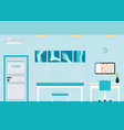 orthopedic clinics and diagnostic centers vector image