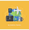 Abstract business composition vector image vector image