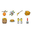 apiary and beekeeping icons in set collection for vector image