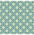 arabic seamless blue and green pattern ramadan vector image vector image