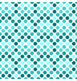 circle pattern background design - teal abstract vector image vector image