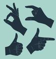 gesture vector image