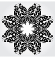 Lace element vector image