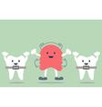 orthodontics braces and orthodontics teeth vector image vector image